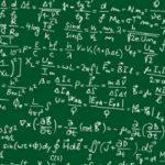 schoolbord onderwijs formule